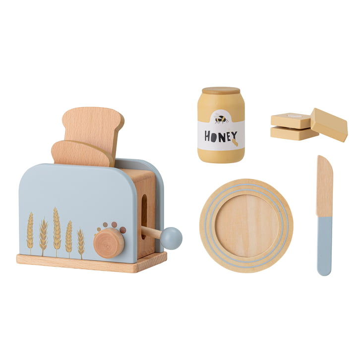 Adda Toy from Bloomingville in beech blue (7 pieces)