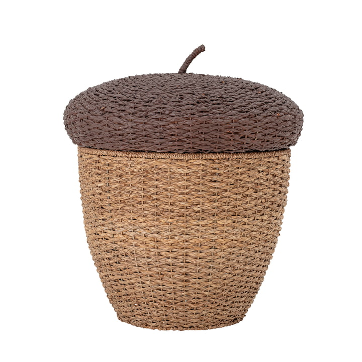 Finus Storage basket from Bloomingville made of sea grass brown