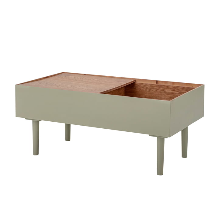 Favne Side table from Bloomingville in green