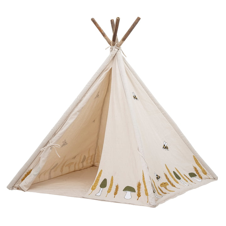 Milo Play tent from Bloomingville in nature