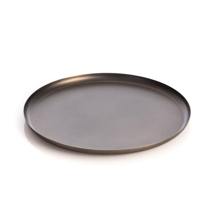 Bao Tray Medium, Ø 30 cm, black from XLBoom