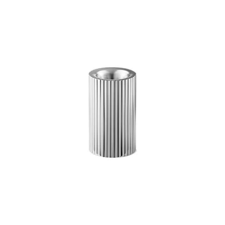Bernadotte Candle and tealight holder small H 8 cm from Georg Jensen stainless steel