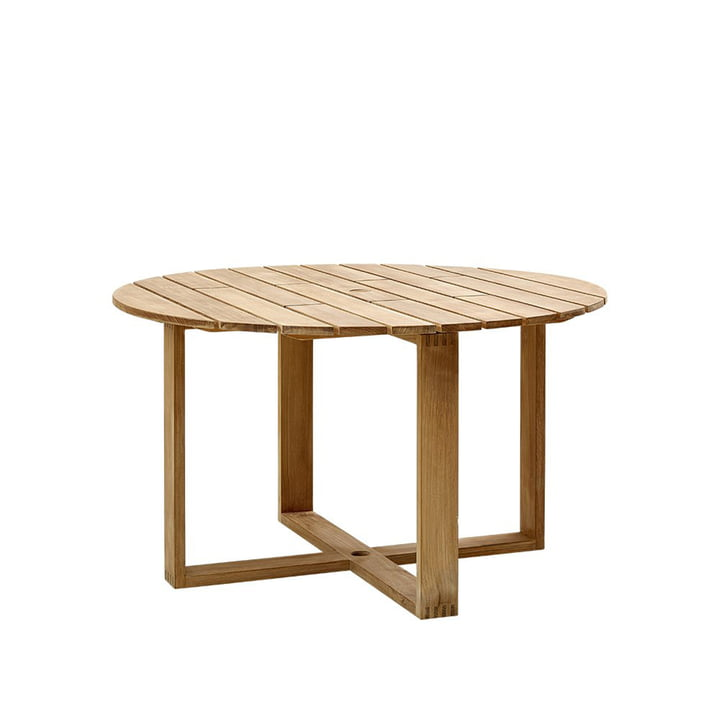 Endless Dining table Ø 130 cm, teak from Cane-Line