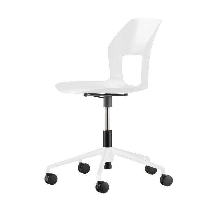 Occo SC Swivel chair, white from Wilkhahn