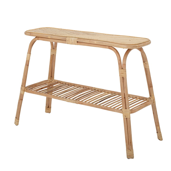 The Thenna console table from Bloomingville , rattan, nature