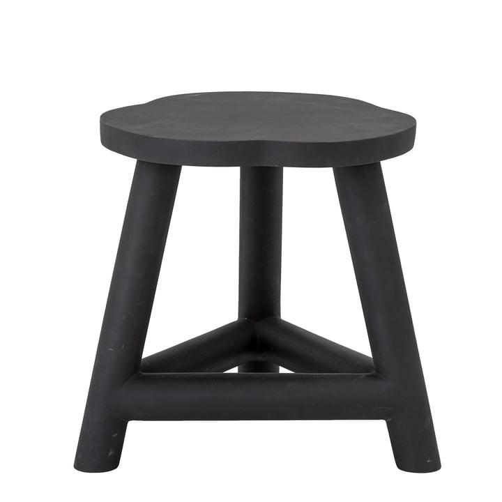 The Malie stool from Bloomingville , mango wood, black