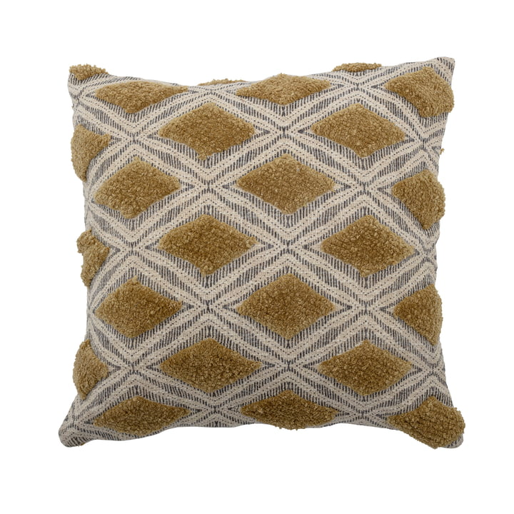 The Deon cushion from Bloomingville , 45 x 45 cm, green