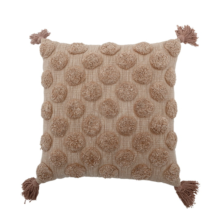 The Binette cushion from Bloomingville , 45 x 45 cm, brown