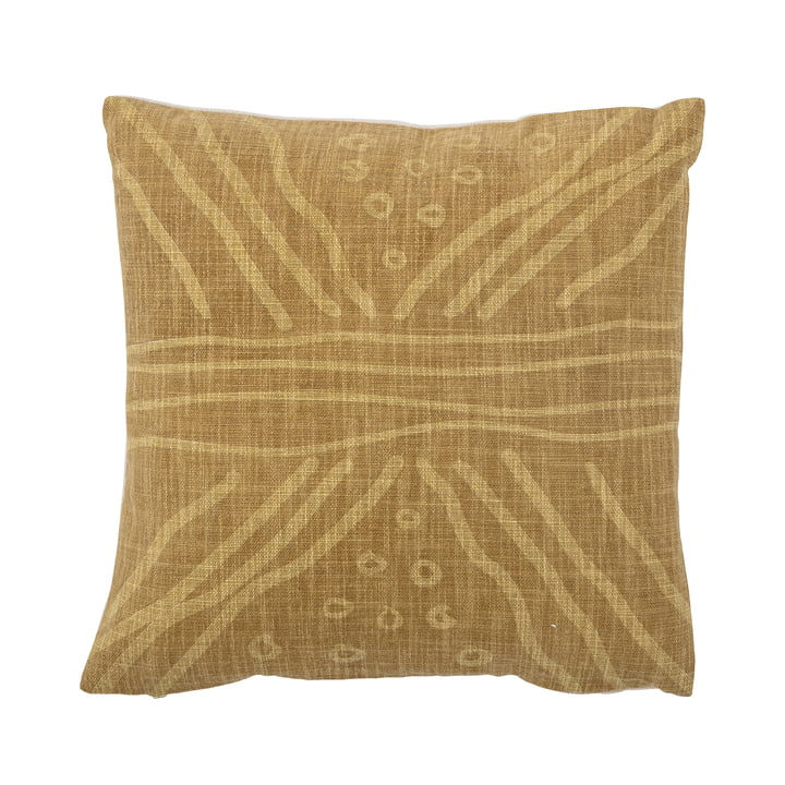 The Edle cushion from Bloomingville , 40 x 40 cm, yellow