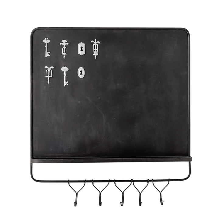 The Denno magnetic board / key board with magnets from Bloomingville , 8-piece, brown