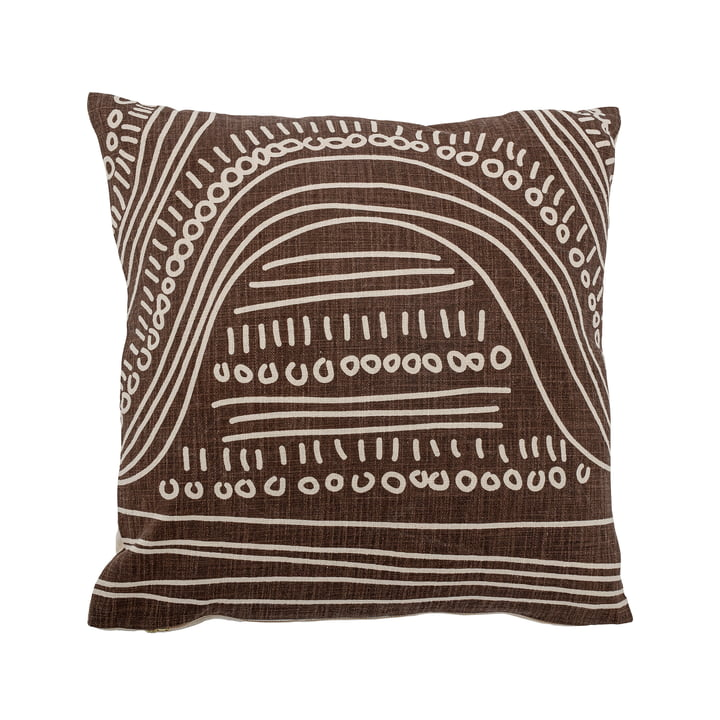 The Felice cushion from Bloomingville , 50 x 50 cm, brown