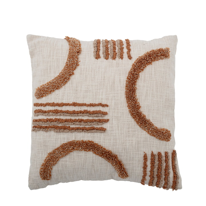 The Lali cushion from Bloomingville , 50 x 50 cm, brown