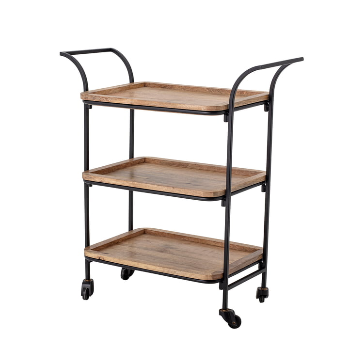 Ling Trolley from Bloomingville in the colour brown