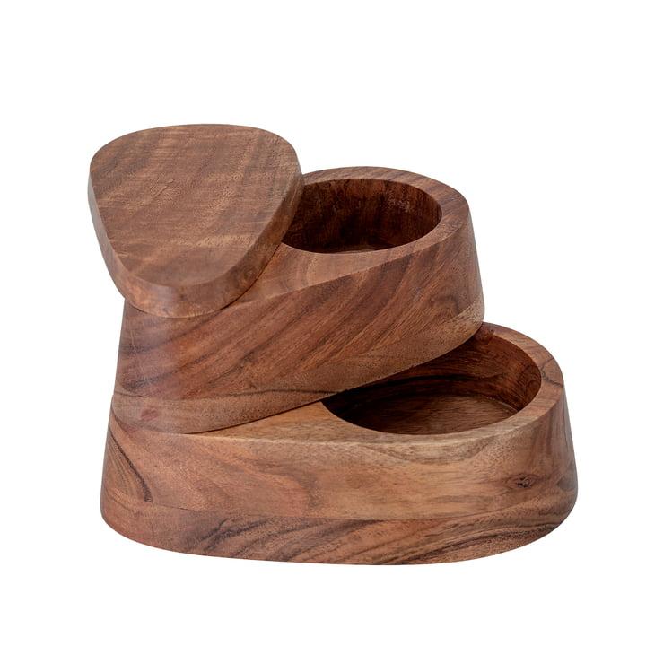 Thyme Salt box, acacia by Bloomingville