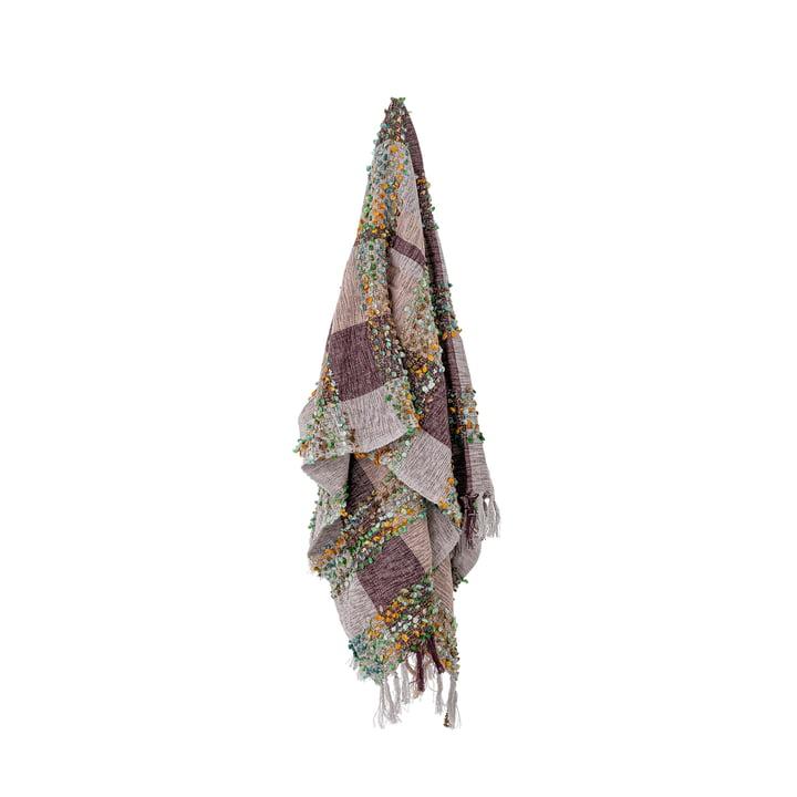 Laj Blanket, 150 x 130 cm, purple from Bloomingville