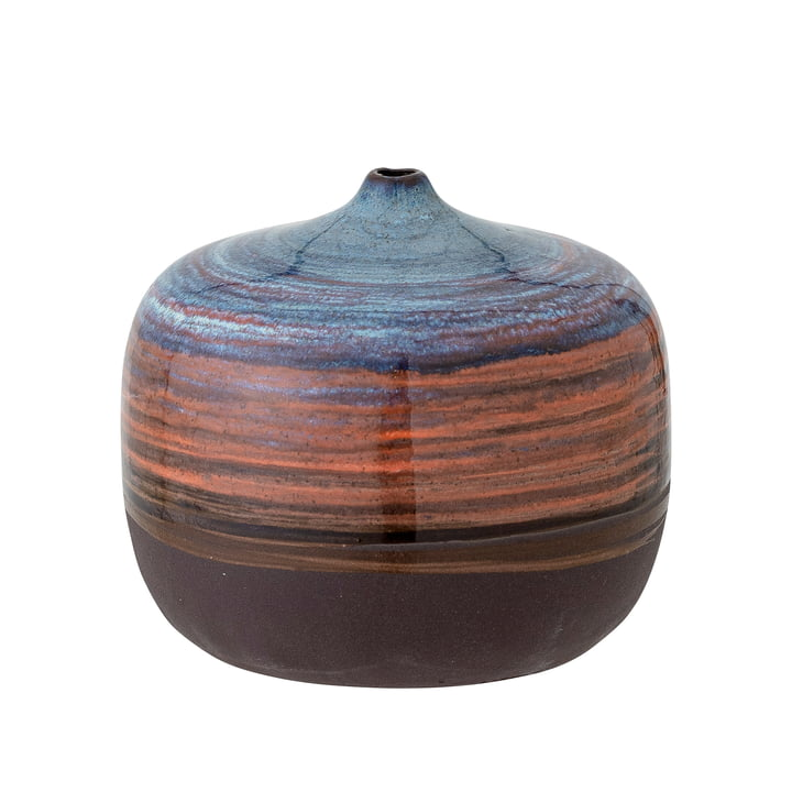 Maes Vase, h 8 cm, blue from Bloomingville