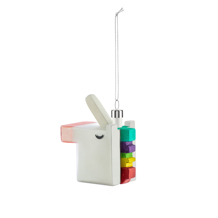 Cubicorno Cube Christmas tree decorations from Alessi