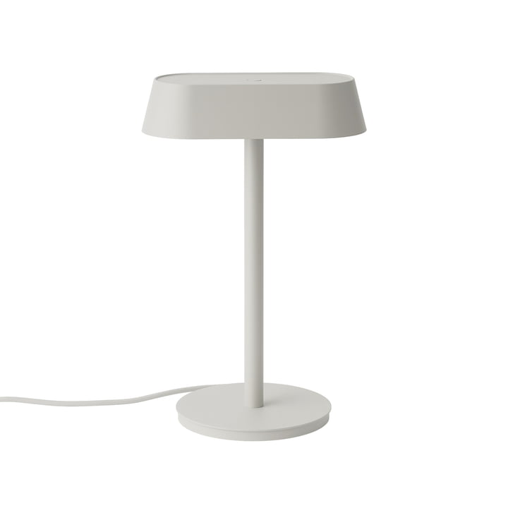 Linear Table lamp from Muuto in the colour grey
