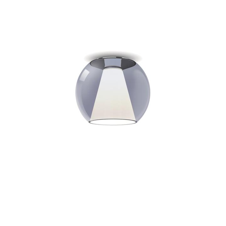 serien.lighting - Draft Ceiling light S, Ø 26 x H 23 cm, 2700 K / 1130 lm, blue