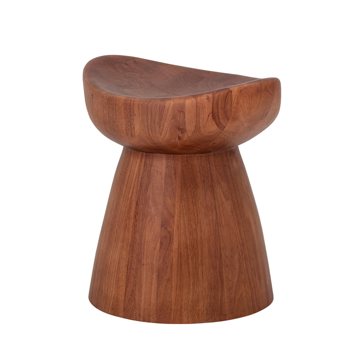 Luc Stool from Bloomingville in brown