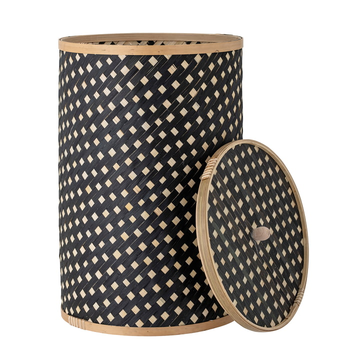 Jud Storage basket from Bloomingville in color black