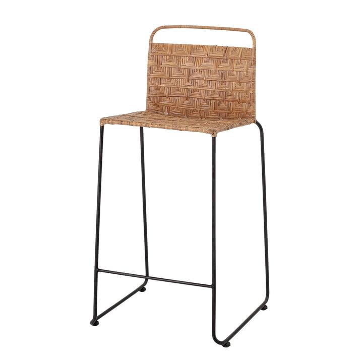 Gunnel Bar chair from Bloomingville in rattan / black