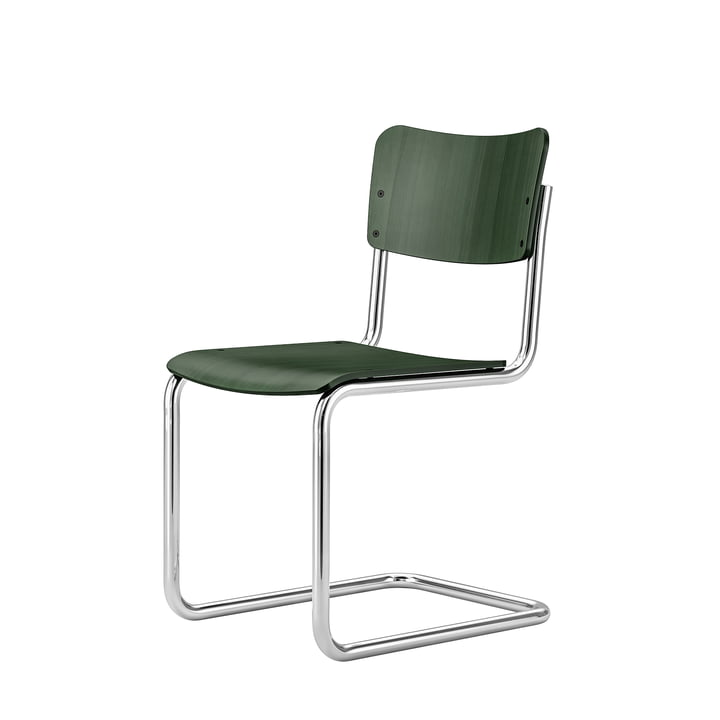 Kids chair S 43 K from Thonet in emerald green