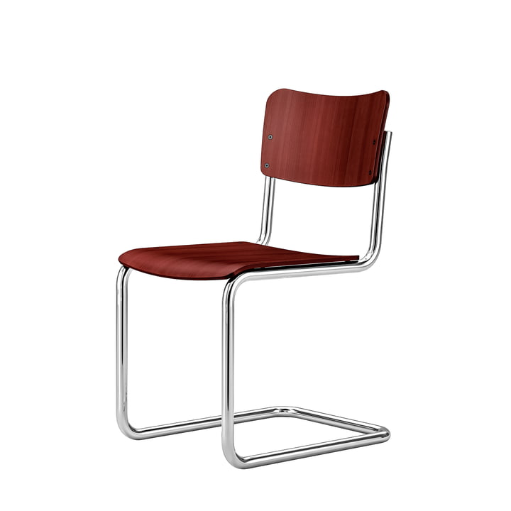Children's chair S 43 K from Thonet in ruby red