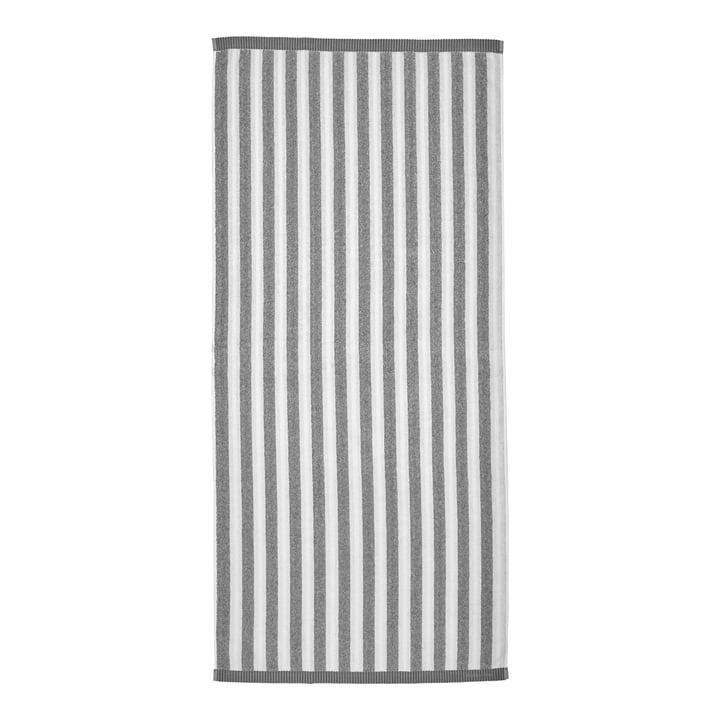 Marimekko - Kaksi Raitaa Bath towel 70 x 150 cm, white / grey
