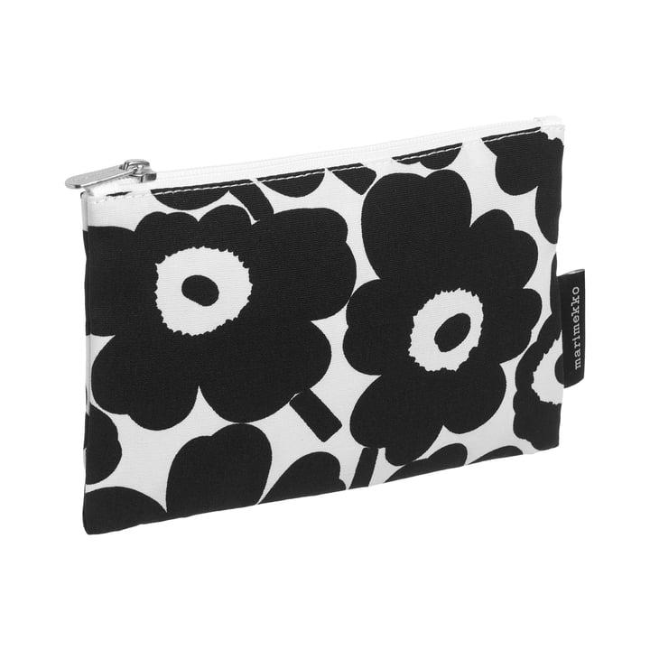 Marimekko - Kaika Mini Unikko Cosmetic bag, white / black