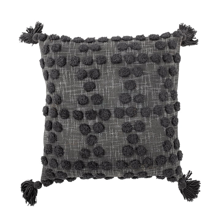 Adiva Cushion 45 x 45 cm, from Bloomingville in color darkgrey