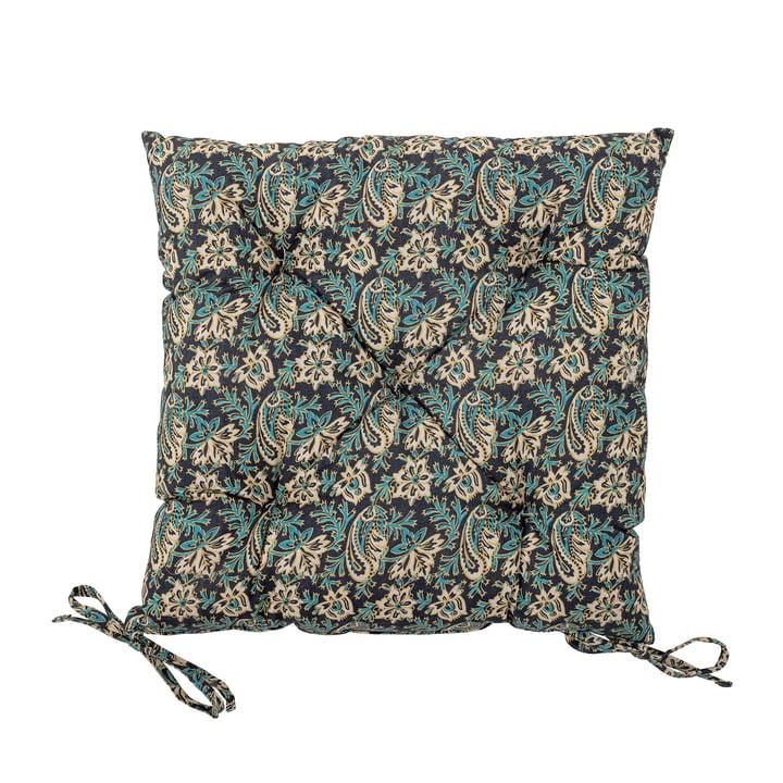 Abiha cushion 45 x 45 cm from Bloomingville in blue / beige
