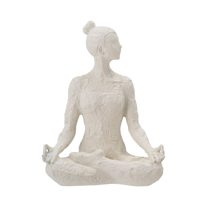 Adalina Decorative figure from Bloomingville in white