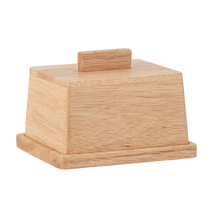 Basil Butter dish from Bloomingville in acacia nature