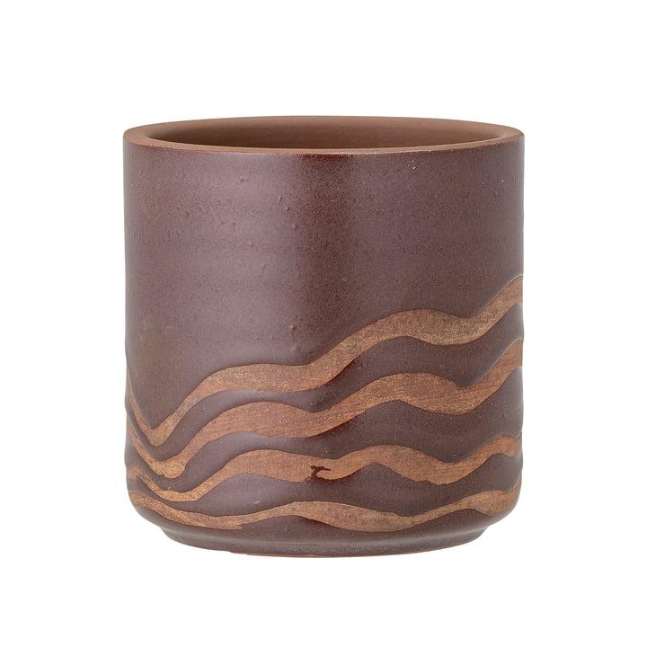 Haakon Flowerpot from Bloomingville in brown