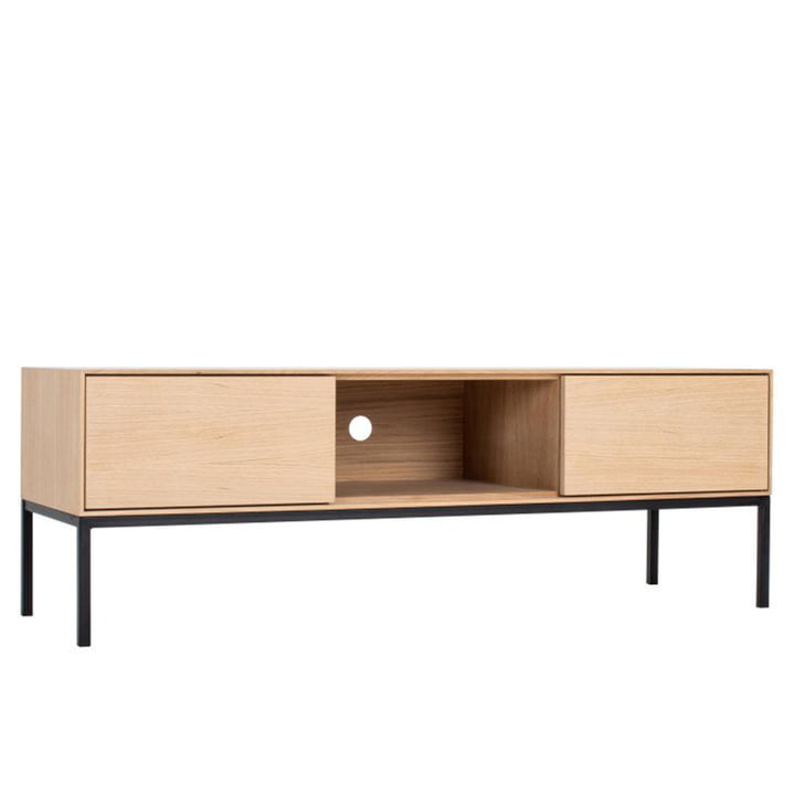 Nuury TV furniture, 47 x 138 cm from Nuuck made of oak