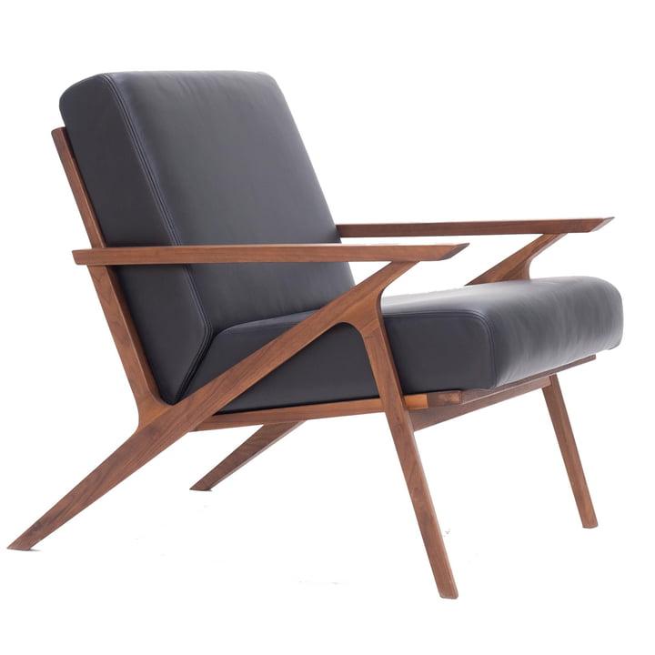 Jesper Lounge Chair from Nuuck in walnut