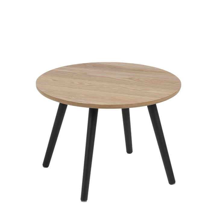 Bord Side table, Ø 50 cm from Nuuck in black