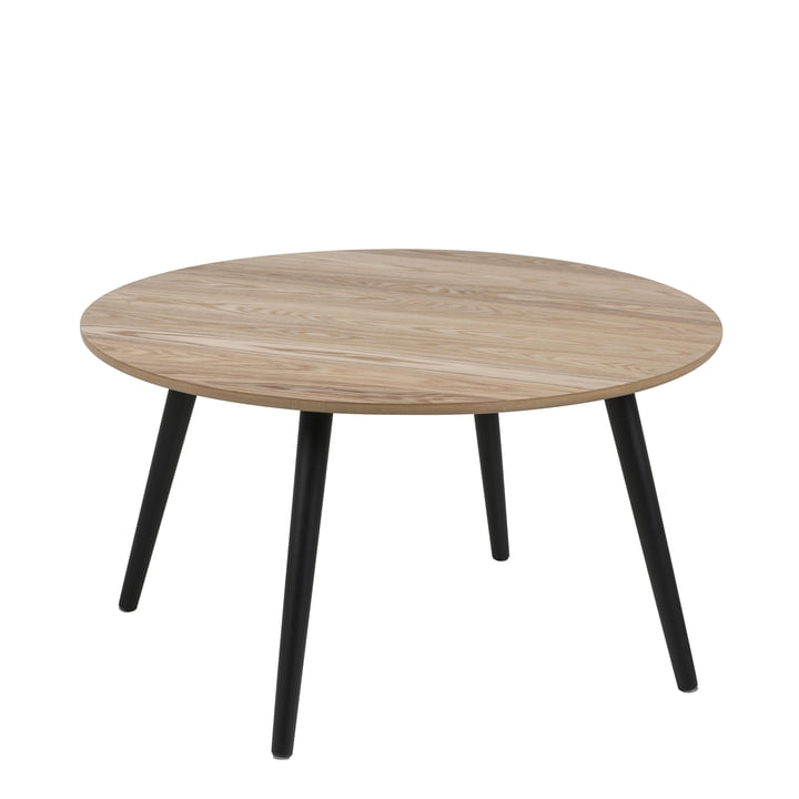Bord Side table, Ø 80 cm from Nuuck in black
