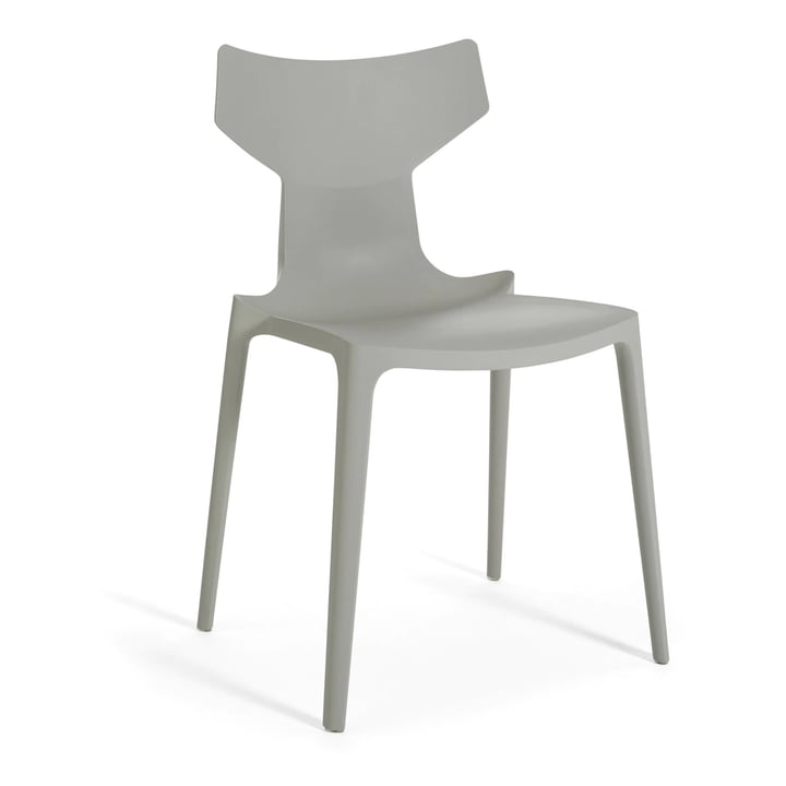Re-Chair chair from Kartell in grey