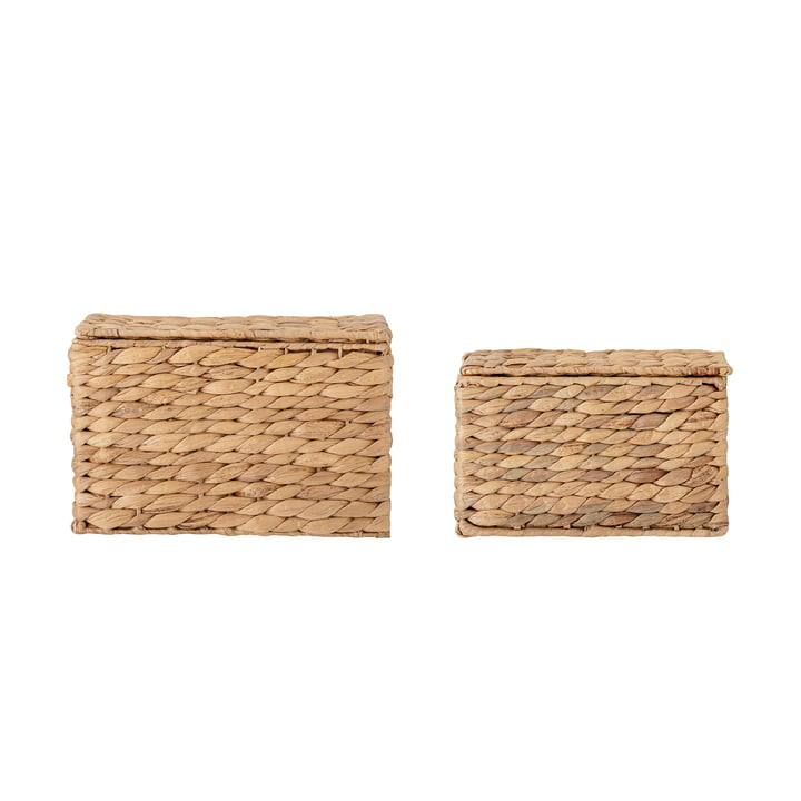 Gils Storage basket, sea grass natural (set of 2) from Bloomingville