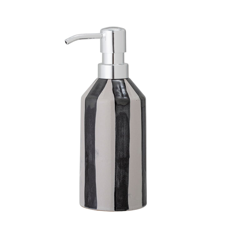 Serina Soap dispenser from Bloomingville in black / white