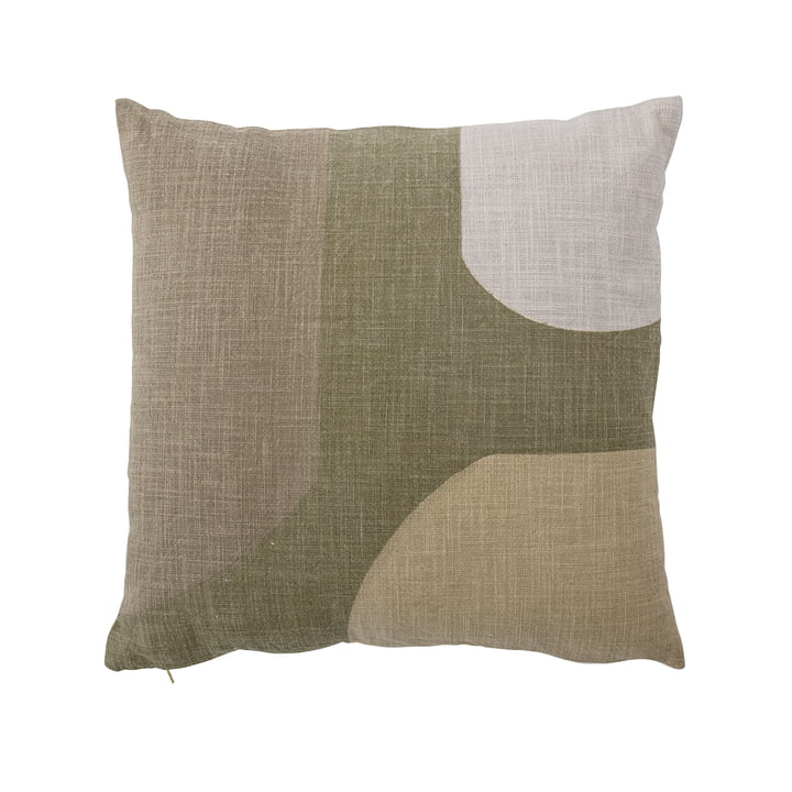 Kuni Cushion, 45 x 45 cm from Bloomingville in green / white