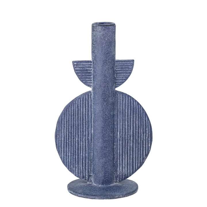 Bloomingville - Bess Candleholder No. 1, blue
