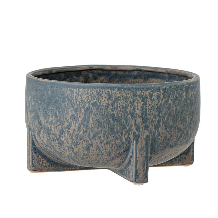 Beryl Flowerpot from Bloomingville in grey-blue