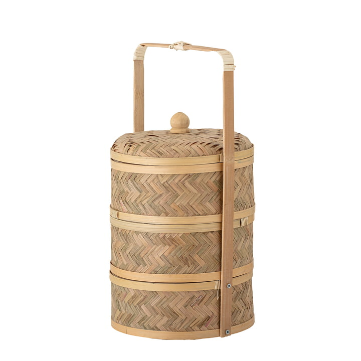Niella Storage basket from Bloomingville in natural bamboo