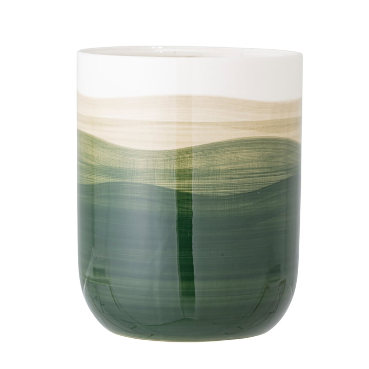 Darell Flowerpot from Bloomingville in green / white