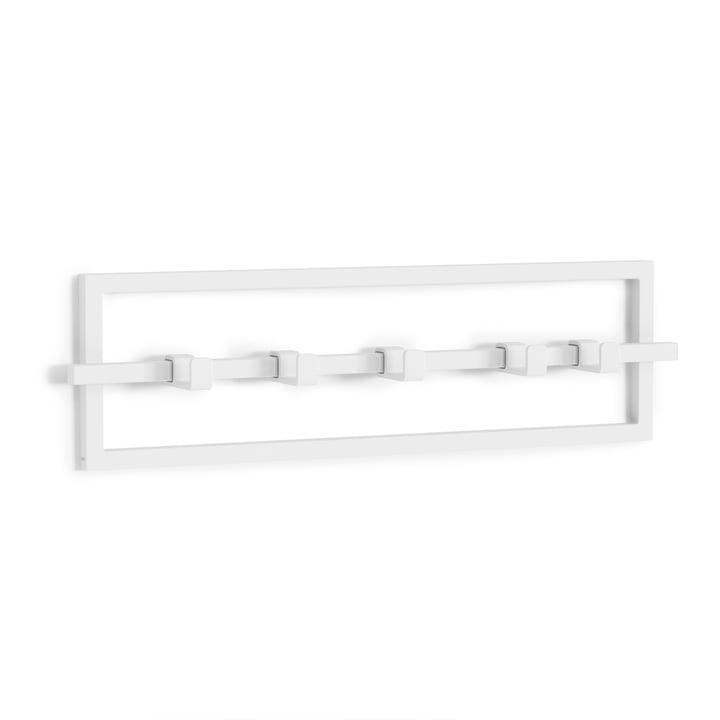 ubiko wall coat rack, L 53 cm from Umbra in white