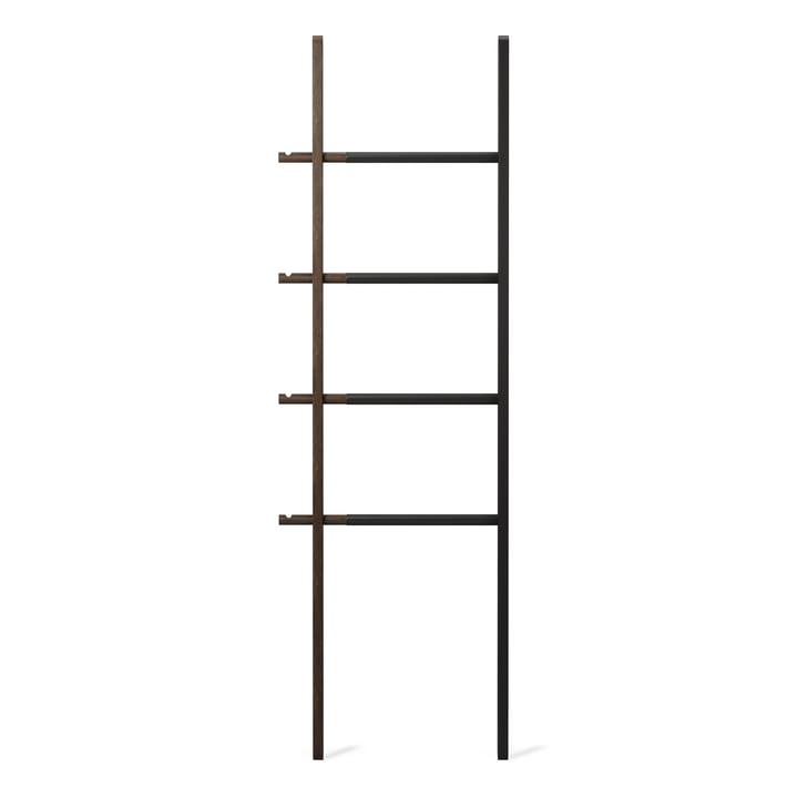 Hub Storage ladder from Umbra in black / walnut