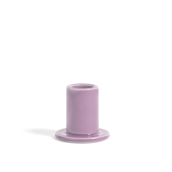 Tube Candleholder S from Hay in purple